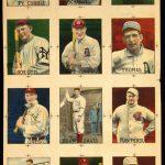 1913 proof sheet