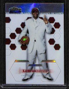 LeBron James Finest Rookie card