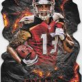 2015 Topps Fire Forged by Fire Mike Evans