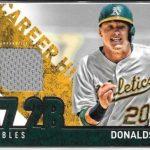 Josh Donaldson 2015 Topps Career High Relic