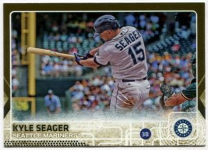 Kyle Seager 2015 Topps Gold