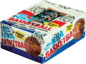 Fleer Basketball unopened box 1986-87