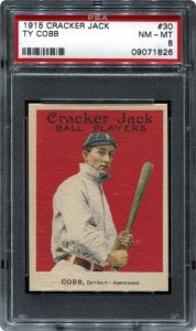 Cracker Jack Ty Cobb 1915