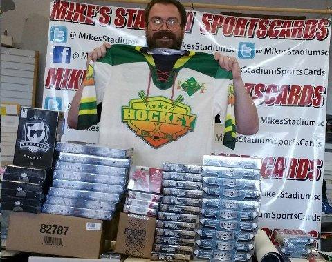 Mike Fruitman hockey card boxes