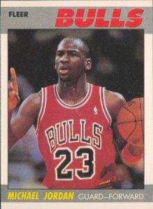 Fleer 1987-88 Michael Jordan