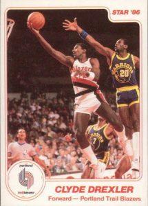 Clyde Drexler 1985-86