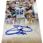 Immaculate Moments Emmitt Smith auto