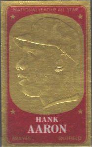Hank Aaron 1965 Topps Embossed