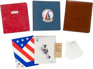Herb Brooks 1980 Olympic notebooks