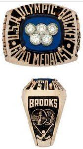 Herb Brooks 1980 Olympic hockey ring