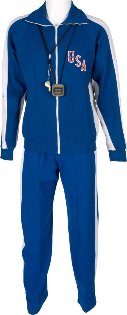 Herb Brooks 1980 Olympic practice gear