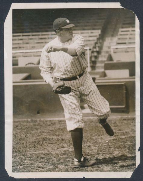 Babe Ruth 1922 photo
