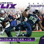 Malcolm Butler Panini Super Bowl card