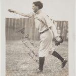 Autographed Joe Jackson photo 1911