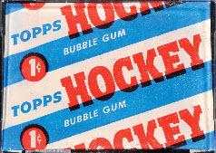 Topps 1954-55 Hockey Set