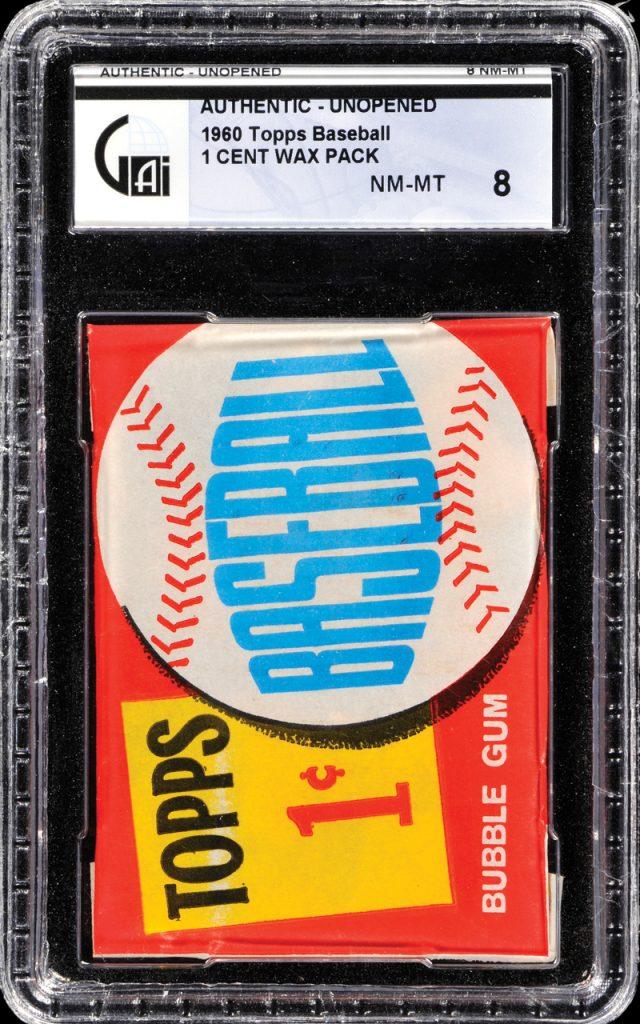 Topps 1960 penny pack
