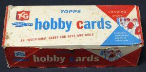 1960 Topps vending box