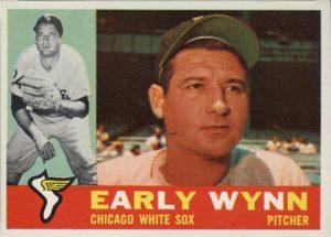 Early Wynn 1960 Topps