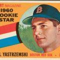 Carl Yastrzemski rookie card 1960 Topps