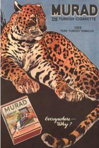 Murant Turkish tobacco advertisement