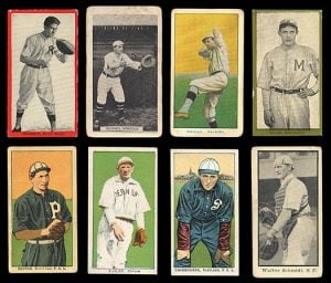 One of the most popularly collected antique prints are trading cards.