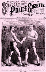 1882 Police Gazette magazine supplement