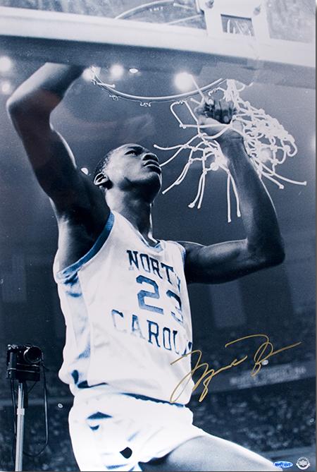 Michael Jordan UDA autographed item