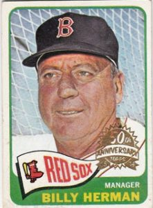 Stamped buyback Topps 2014 Heritage 1965 Topps