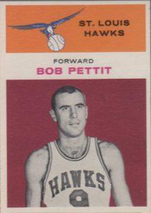 Bob Pettit 1961-62 Fleer