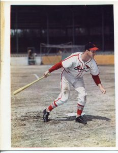 1947 tri-color cabro photo  of Stan Musial