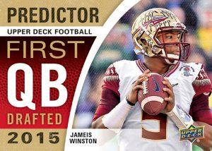 Jameis Winston 2015 Upper Deck Predictor
