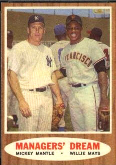 Topps 1962 Managers Dream