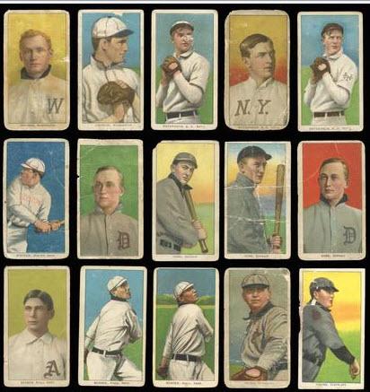 T206 Baseball lot