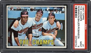1967 Topps The Champs 1 Orioles