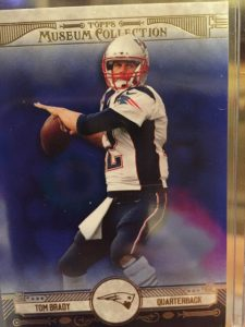 Topps 2014 Museum Football Tom Brady Sapphire parallel