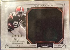 Terrence West 2014 Museum Football Relic
