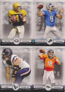 Topps 2014 Museum Football Base Cards