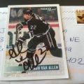 TTM autograph Shaun Van Allen
