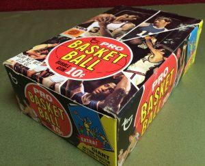 Topps basketball vending box 1970-71 2nd Series