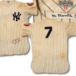 Mickey Mantle jersey 1952