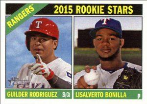 Guilder Rodriguez rookie card