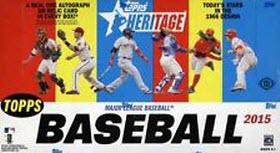Topps Heritage 2015 hobby box