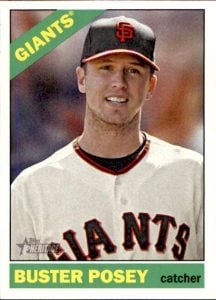 Buster Posey 2015 Heritage