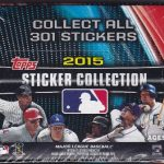 Topps Stickers 2015 box