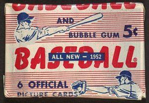 5 cent 1952 bowman baseball pack