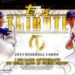 Topps Tribute hobby box 2015