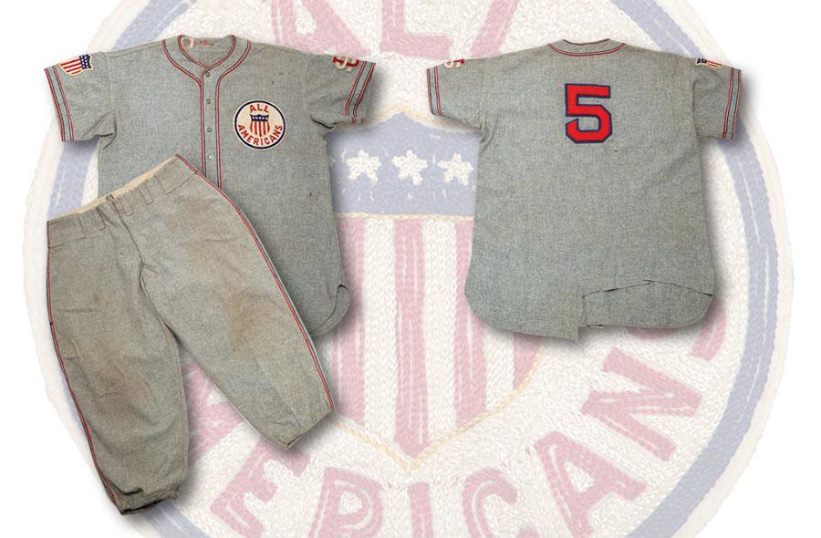 Jimmie Foxx 1934 Tour of Japan uniform
