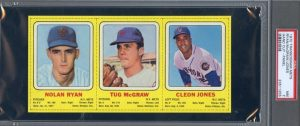 1970 Transogram Mets Ryan-McGraw-Jones PSA 7 CU