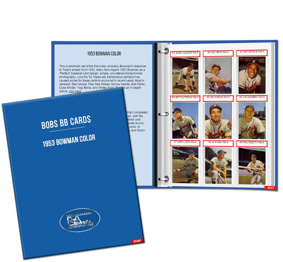 PSA Digital Set Registry Album