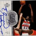 Signed Elvin Hayes card